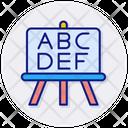 Abc School Board Board Icon