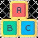Block Toys Kids Icon
