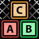 Abc Block Icon