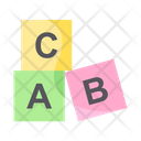 Abc Blocks Icon