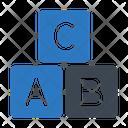 Abc Blocks Icon