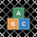 Abc Blocks Toys Icon