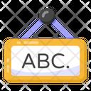 Abc Board Icon