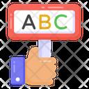 Abc Board Basic Education Primary Education Icon