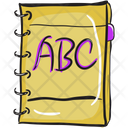 Abc Book Alphabet Book Education Book Icon