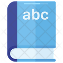 Abc Book English Book Alphabetic Book Icon