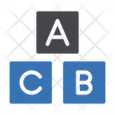 Abc Toy Blocks Icon