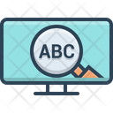 Abc Keyword Icon