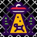 Abduction Violence Alien Icon
