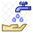 Ablution Water Wash Icon