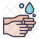 Ablution Hand Wash Washing Hand Icon