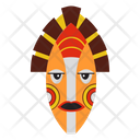 Aborignal Mask Tribal Mask Cultural Mask Icon