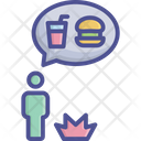 About Fast Food Argue Battle Icon