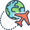 Abroad Overseas Exotic Icon