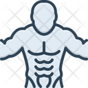 Abs Muscles Abdomen Icon