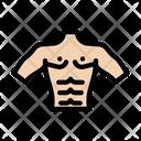 Abs Bodybuilder Gym Icon