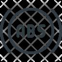 Abs Icon