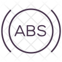 Abs Service Car Icon
