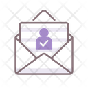 Absentee Voting Envelope Vating Icon