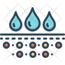 Absorption Moisture Dampness Icon