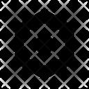 Abstract Figure Hexagon Icon