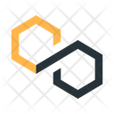 Abstract Figure Hexagons Icon