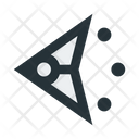 Abstract Figure Triangle Icon
