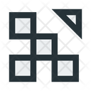 Abstract Figure Squares Icon