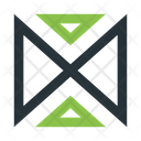 Abstract Figure Triangles Icon