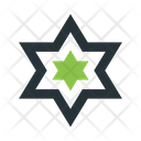 Abstract Figure Stars Icon