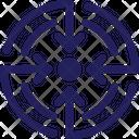 Abstract Goals Organization Icon