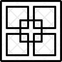 Fractal Fractional Partial Icon