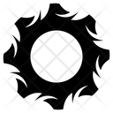 Abstract Design Decorative Circle Sacred Geometry Icon