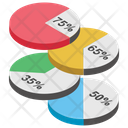 Abstract Pie Pie Chart Chart Infographic Icon