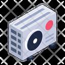 Ac Fan Ac Condenser Outdoor Unit Icon