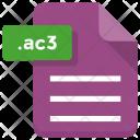 Ac File Paper Icon