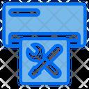 Air Conditioner Electronic Repair Icon