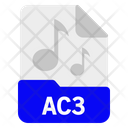 Ac 3 File Format Icon