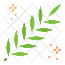 Lent Spring Leaves Icon