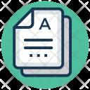 Academic grading Icon