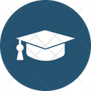 Academic Mortar Board Awarded Cap Commencement Icon