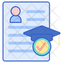 Academic Record Documents Report Icon