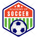 Academy Of Soccer Icon