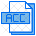 Acc File Format Type Icon