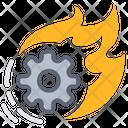 Accelerate Gear Process Icon