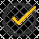Accept Approve Check Icon