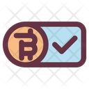 Bitcoin Deal Accept Icon