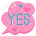 Accept Yes Conversation Icon