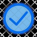 Accept Button Checklist Icon