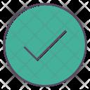 Accept Ok Checkmark Icon